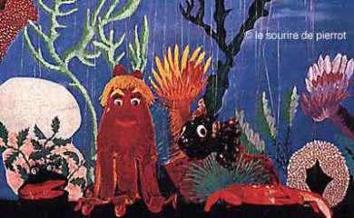 Voyage sous la mer, marionnettes à fils